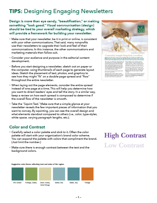 Cover of the Tips and guidelines PDF